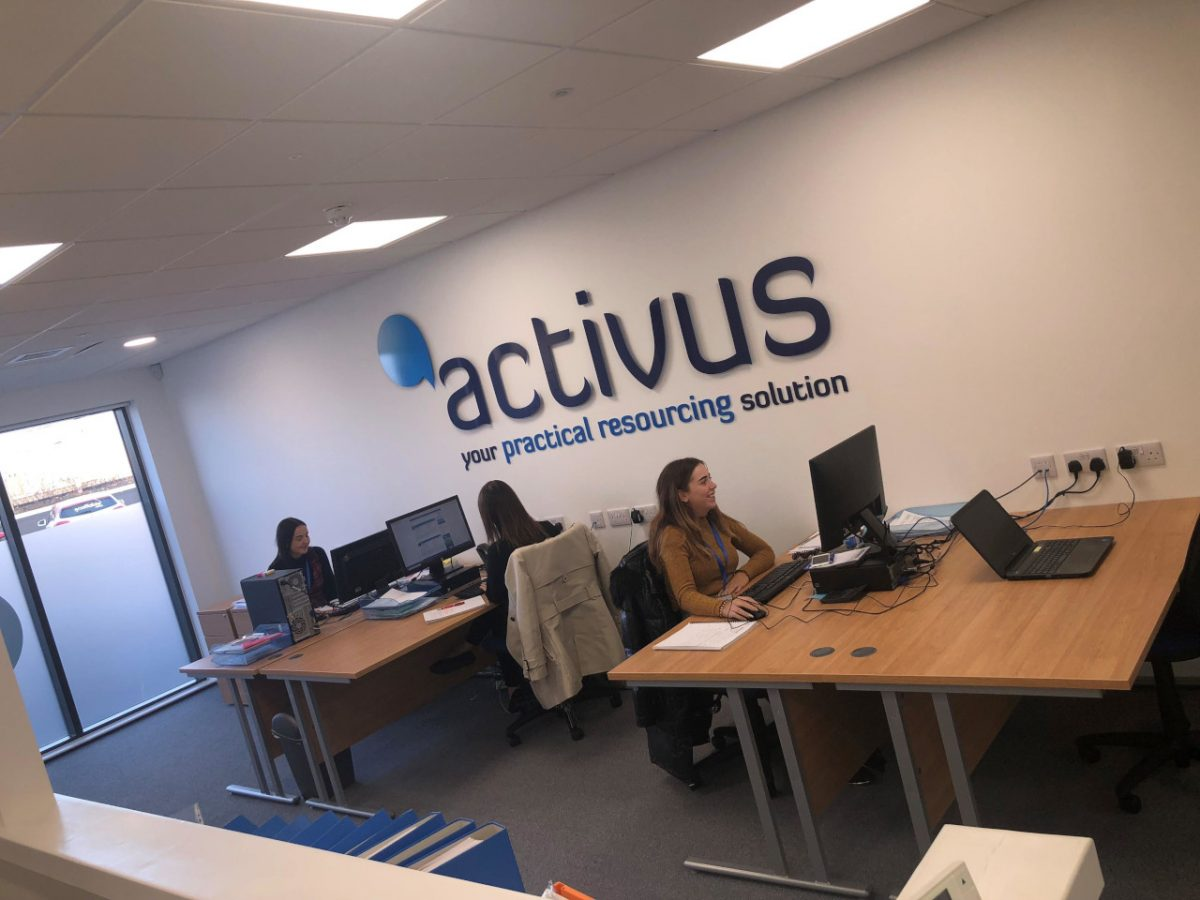 Activus Recruitment Recruitment Experts Oldmeldrum Aberdeenshire Aberdeen Scotland UK Recruitment Agency News New Office